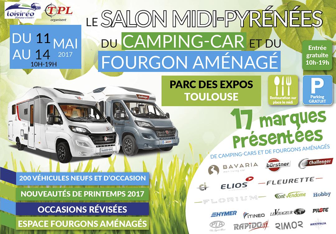 Salon de toulouse for Salon du camping car lyon
